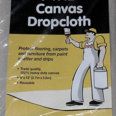 Canvas Drop Sheet 9' x 12'