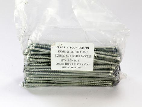 Square Drive Screws 150mm