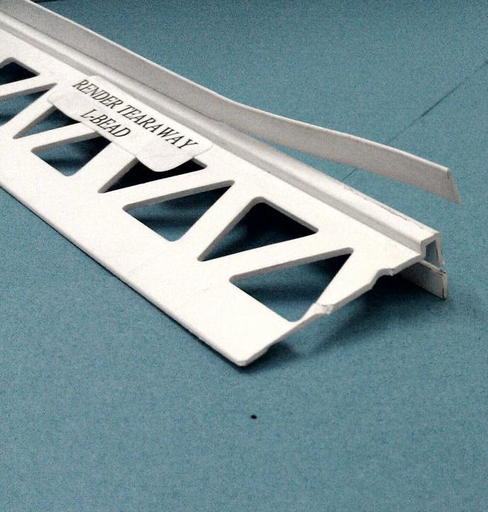 Trim - 10mm L-Bead Tearaway